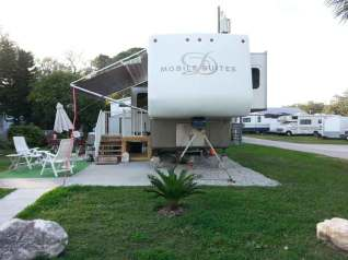 Sherwood Forest RV Park in Palm Harbor Florida RV Site
