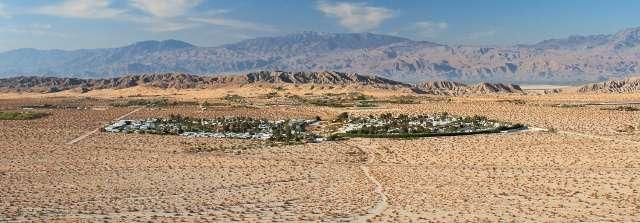 Sky Valley Resort in Desert Hot Springs California Aerial View