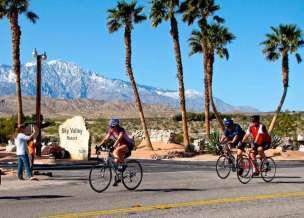 Sky Valley Resort in Desert Hot Springs California Biking