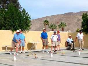 Sky Valley Resort in Desert Hot Springs California Shuffleboard