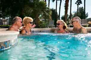 Sky Valley Resort in Desert Hot Springs California Spa