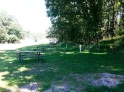 Spokane Creek Cabins & Campground near Keystone South Dakota backin sites
