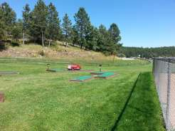 Spokane Creek Cabins & Campground near Keystone South Dakota Golf