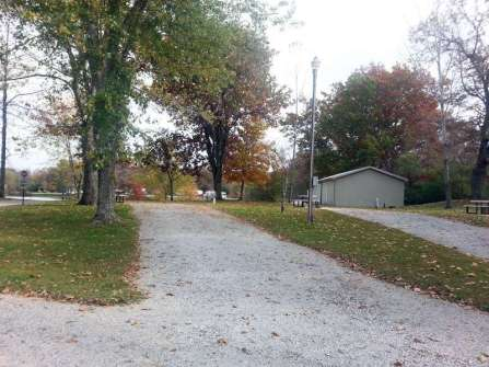 Spring Lake RV Resort in Crossville Tennessee off lake backin