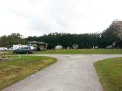 Stage Stop Campground in Winter Garden Florida Roadway