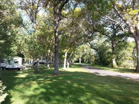 Stokes-Thomas Lake City Park in Watertown South Dakota Bike Trail