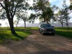 Stokes-Thomas Lake City Park in Watertown South Dakota Backin by Lake