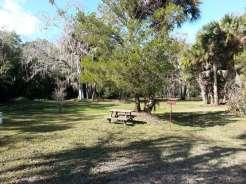 Sugar Mill Ruins Travel Park in New Smyrna Beach Florida Tent Site