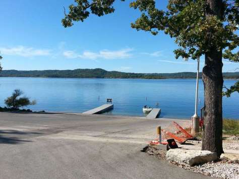Table Rock Lake State Park in Branson Missouri Boat Launch