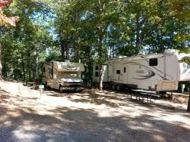 Tall Pines Campground in Branson Missouri Backins
