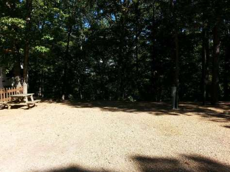 Tall Pines Campground in Branson Missouri Backin