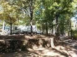 Tall Pines Campground in Branson Missouri Roadway