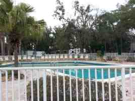 Tampa East RV Park in Dover Florida Pool