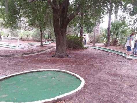 Thousand Trails Orlando in Clermont Florida Mini Golf