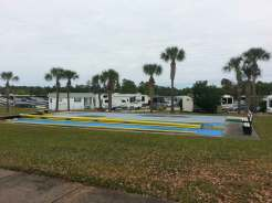 Thousand Trails Orlando in Clermont Florida Shuffleboard
