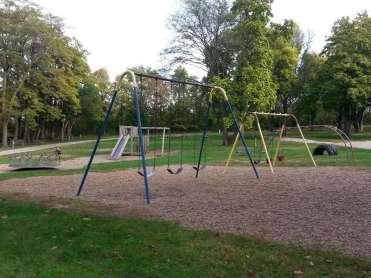 Timberline Campground in Waukee Iowa playground