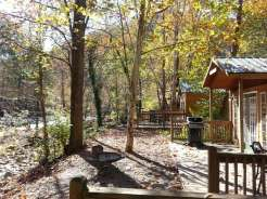 Townsend / Great Smokies KOA in Townsend Tennessee Cabin View