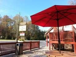 Townsend / Great Smokies KOA in Townsend Tennessee Restaurant Patio