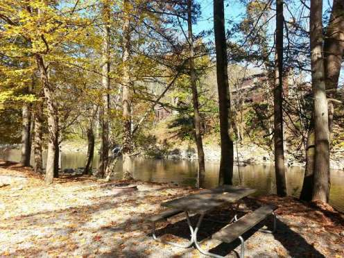 Townsend / Great Smokies KOA in Townsend Tennessee Tent Site by River