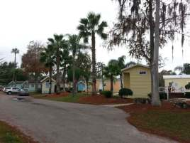 Tropical Palms Resort in Kissimmee Florida Cabin