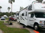 Tropical Palms Resort in Kissimmee Florida Small Pull thru