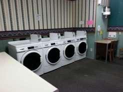 Twin Creek RV Resort in Gatlinburg Tennessee Laundry