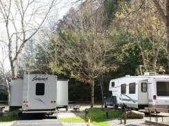 Twin Creek RV Resort in Gatlinburg Tennessee Pull thrus