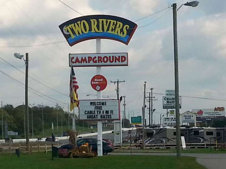 Two Rivers Campground In Nashville Tennessee Tn