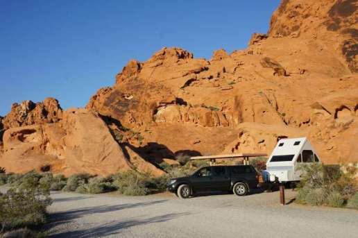 Valley of Fire State Park near Overton Nevada Backin Site