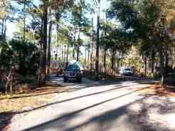 Wekiwa Springs State Park Campground in Apopka Florida Spacing
