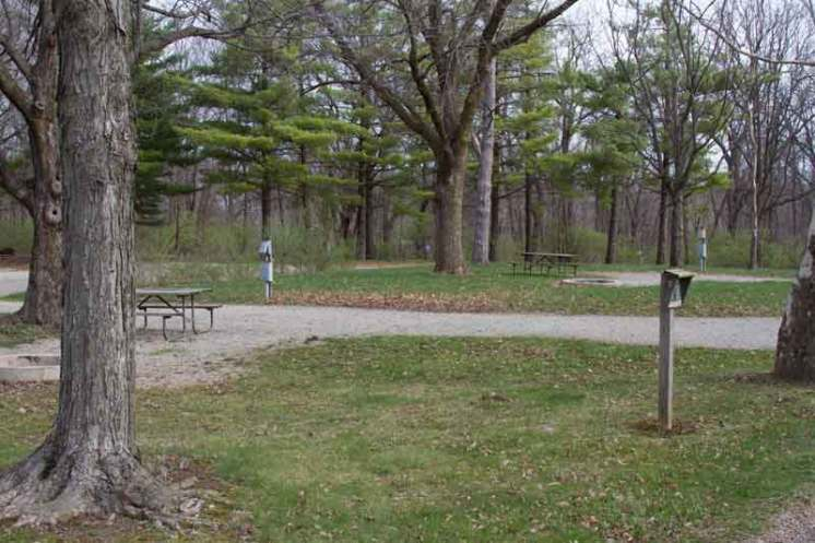 Weldon Springs State Park in Clinton Illinois Backin