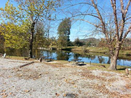 Ye Olde Mill Campground in Townsend Tennessee Riverfront