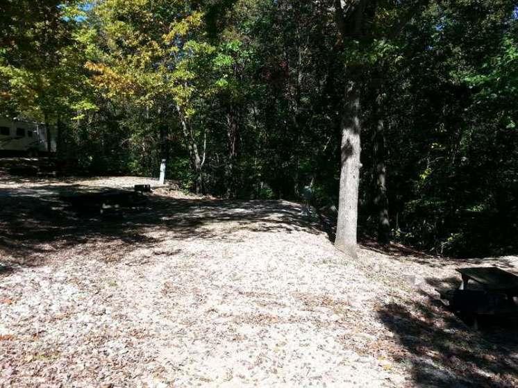 Compton Ridge Campground and Lodge in Branson Missouri Backin Site