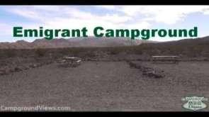 Emigrant Campground