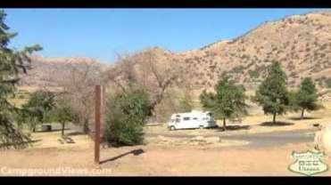 Horse Creek Campground at Lake Kaweah