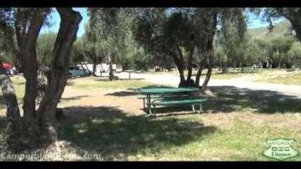 Lake Piru Recreation Area Campground Piru California Rv