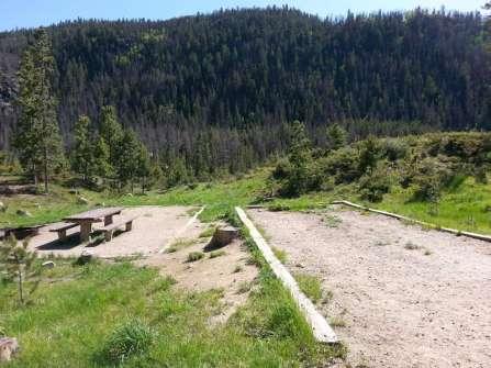 Arapaho Bay Moraine Backin Site