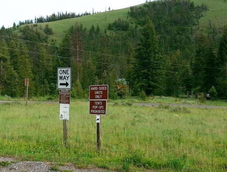 eagle-creek-campground-cody-warning