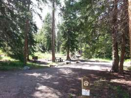 hunter-peak-campground-cody-wyoming-site