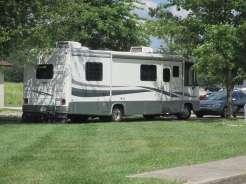 Budget Host Westgate Inn Motel & Campground in London Kentucky KY mowed grass