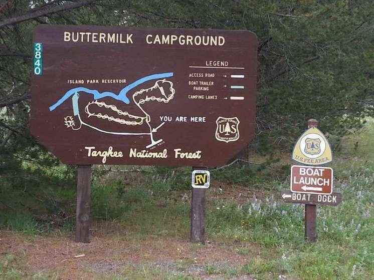 buttermilk-campground-sign