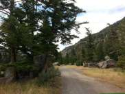 canyon-campground-gardiner-montana-road