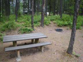 lid-creek-campground-hungry-horse-montana-site