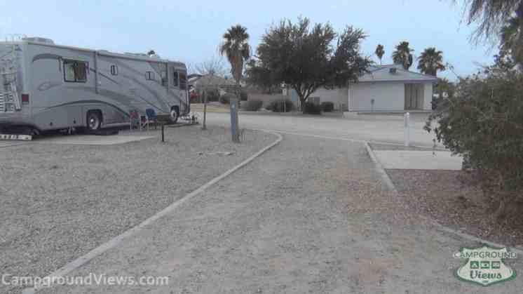 Arizona Oasis RV Resort in Ehrenberg Arizona Pull Thru