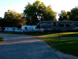 Ambush Park Campground in Benson Minnesota Sites