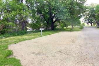 Fisher Grove State Park Campground near Frankfort South Dakota Pull thru