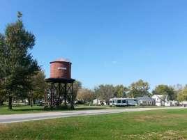 Humeston RV Park and Picnic Area in Humeston Iowa Backside
