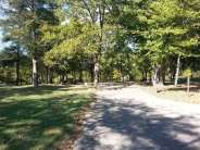 Aunts Creek COE Campground in Reed Springs Missouri (Branson West) backin
