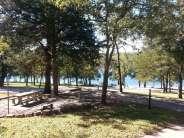 Aunts Creek COE Campground in Reed Springs Missouri (Branson West) Looking towards water