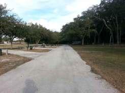 Clarcona Horse Park Campground in Apopka Florida Roadway
